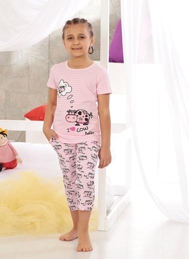 Zeyzey Pijama Takım Pembe